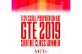 ** 予約商品 ** HIRO K721 1/24 488 GTE 2019 LM Class Winner
