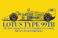 【お取り寄せ商品】 HIRO K730 1/20 Lotus type 99TB Japanese GP 1987