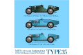 HIRO K736 1/12 Bugatti Type 35 Monaco GP 1929-30