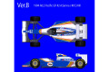 【お取り寄せ商品】 HIRO K738 1/20 Williams FW16 Ver.B Pacific GP 1994