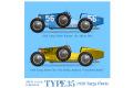 【お取り寄せ商品】 HIRO K741 1/12 Bugatti Type 35 1928 Targa Florio