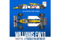 【お取り寄せ商品】 HIRO K742 1/12 Williams FW11 1986 Portuguese GP