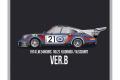 HIRO K771 1/43 Porsche 911 Carrera RSR Turbo Ver.B Le Mans 1974 No.21
