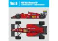 HIRO K775 1/43 Ferrari F187 Ver.B 1987 Rd.4 Monaco GP #27 / #28
