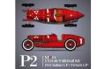 【お取り寄せ商品】 HIRO K778 1/12 Alfa Romeo P2 1924 Italian GP #1 A.Ascari / French GP #10 G.Campari