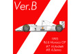 ** 予約商品 ** HIRO K780 1/43 McLaren MP4/8 Ver.B 1993 Monaco GP