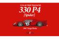 HIRO K788 1/43 Ferrari 330P4 Spider Ver.B 1967 Targa Florio #224