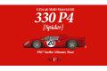 HIRO K789 1/43 Ferrari 330P4 Spider Ver.C 1967 Le Mans 24H #20