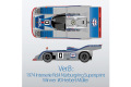 ** 予約商品 ** HIRO K800 1/43 Porsche 917/30 Ver.B Martini 1974 Interserie #0 H.Muller