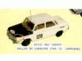 JPS KP101P NSU 1000 TT Rally de Lorraine 1966 プリペイントキット