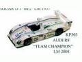 JPS KP303 アウディ R8 TEAM CHAMPION LM2004 プリペイントキット