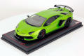 ** 予約商品 ** MR collection  LAMBO34A 1/18 Lamborghini Aventador SVJ Verde Alceo