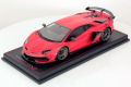 MR collection  LAMBO34D 1/18 Lamborghini Aventador SVJ Rosso Mimir