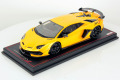MR collection  LAMBO34E 1/18 Lamborghini Aventador SVJ New Giallo Orion