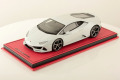 ** 予約商品 ** MR collection  LAMBO38D 1/18 Lamborghini Huracan Evo Bianco Icarus (Pearl)
