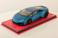 ** 予約商品 ** MR collection  LAMBO38SE2 1/18 Lamborghini Huracan Evo Blu Aegeus (Matt) Limited 25 pcs