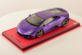 ** 予約商品 ** MR collection  LAMBO38SE3 1/18 Lamborghini Huracan Evo Viola Pasifae (Pearl) Limited 25 pcs