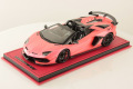 MR collection  LAMBO39SE5 1/18 Lamborghini Aventador SVJ Roadster Metallic Pink Limited 10pcs