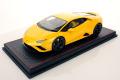 ** 予約商品 ** MR collection  LAMBO45A 1/18 Lamborghini Huracan Evo RWD Giallo Belenus