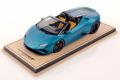 ** 予約商品 ** MR collection  LAMBO46A 1/18 Lamborghini Huracan Evo RWD Spyder Blu Mehit