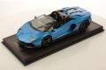 ** 予約商品 ** MR collection LAMBO051A 1/18 Lamborghini Aventador Ultimae Roadster Blu Tawaret
