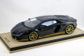 MR Collection LAMBO06MHAB 1/18 Lamborghini Aventador Miura Homage Nero Aldebaran /Gold Limited 15pcs