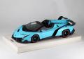 MRコレクション LAMBO16AB1 ランボルギーニ ヴェネーノ ロードスター Baby Blue (ケース付) 25台限定