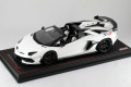 ** 予約商品 ** MR collection  LAMBO39B 1/18 Lamborghini Aventador SVJ Roadster Bianco Phanes