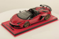 ** 予約商品 ** MR collection  LAMBO39D 1/18 Lamborghini Aventador SVJ Roadster Rosso Bia