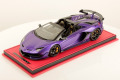 ** 予約商品 ** MR collection  LAMBO39SE 1/18 Lamborghini Aventador SVJ Roadster Viola Pasifae Limited 25 pcs