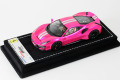 LOOKSMART LS488SC Ferrari 488 Pista Pink Flash Limited 25pcs