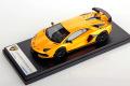 ** 予約商品 ** LOOKSMART LS489E Lamborghini Aventador SVJ New Giallo Orion
