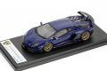 ** 予約商品 ** LOOKSMART LS489F Lamborghini Aventador SVJ Blu Sideris