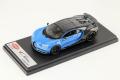 LOOKSMART LS490B 1/43 Bugatti Chiron Sport Grey Carbon / French Racing Blue