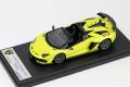 ** 予約商品 ** LOOKSMART LS501E Lamborghini Aventador SVJ Roadster Giallo Tenerife