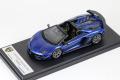 ** 予約商品 ** LOOKSMART LS501F Lamborghini Aventador SVJ Roadster Blu Caelum