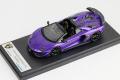 ** 予約商品 ** LOOKSMART LS501G Lamborghini Aventador SVJ Roadster Viola Pasifae