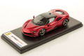 LOOKSMART LS504K 1/43 Ferrari SF90 Stradale Rosso Fuoco / Nero DS