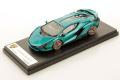 ** 予約商品 ** LOOKSMART LS507B 1/43 Lamborghini Sian FKP37 Blu Uranus