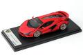 ** 予約商品 ** LOOKSMART LS507C 1/43 Lamborghini Sian FKP37 Rosso Mimir (Matt)
