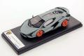 ** 予約商品 ** LOOKSMART LS507E 1/43 Lamborghini Sian FKP37 Grigio Egoista (Matt)