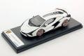 ** 予約商品 ** LOOKSMART LS507F 1/43 Lamborghini Sian FKP37 Bianco Monocerus