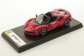 ** 予約商品 ** LOOKSMART LS522C 1/43 Ferrari SF90 Spider Rosso Corsa