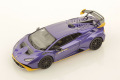 ** 予約商品 ** LOOKSMART LS523E 1/43 Lamborghini Huracan STO Viola Pasifae