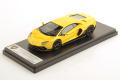 ** 予約商品 ** LOOKSMART LS525D 1/43 Lamborghini Aventador LP780-4 Ultimae Giallo Belenus
