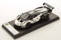 ** 予約商品 ** LOOKSMART LS527SE 1/43 Lamborghini Essenza SCV12 Bianco Asopo