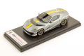 ** 予約商品 ** LOOKSMART LS530A 1/43 Ferrari 812 Competizione Grigio Coburn / Yellow stripe