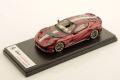 ** 予約商品 ** LOOKSMART LS530D 1/43 Ferrari 812 Competizione Rosso Fiorano  /Grey stripe