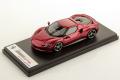** 予約商品 ** LOOKSMART LS533A 1/43 Ferrari 296GTB Rosso Imola