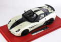 Mansory 1/18完成品 マンソリー 599 Stallone Fuji White/Carbon 35台限定
